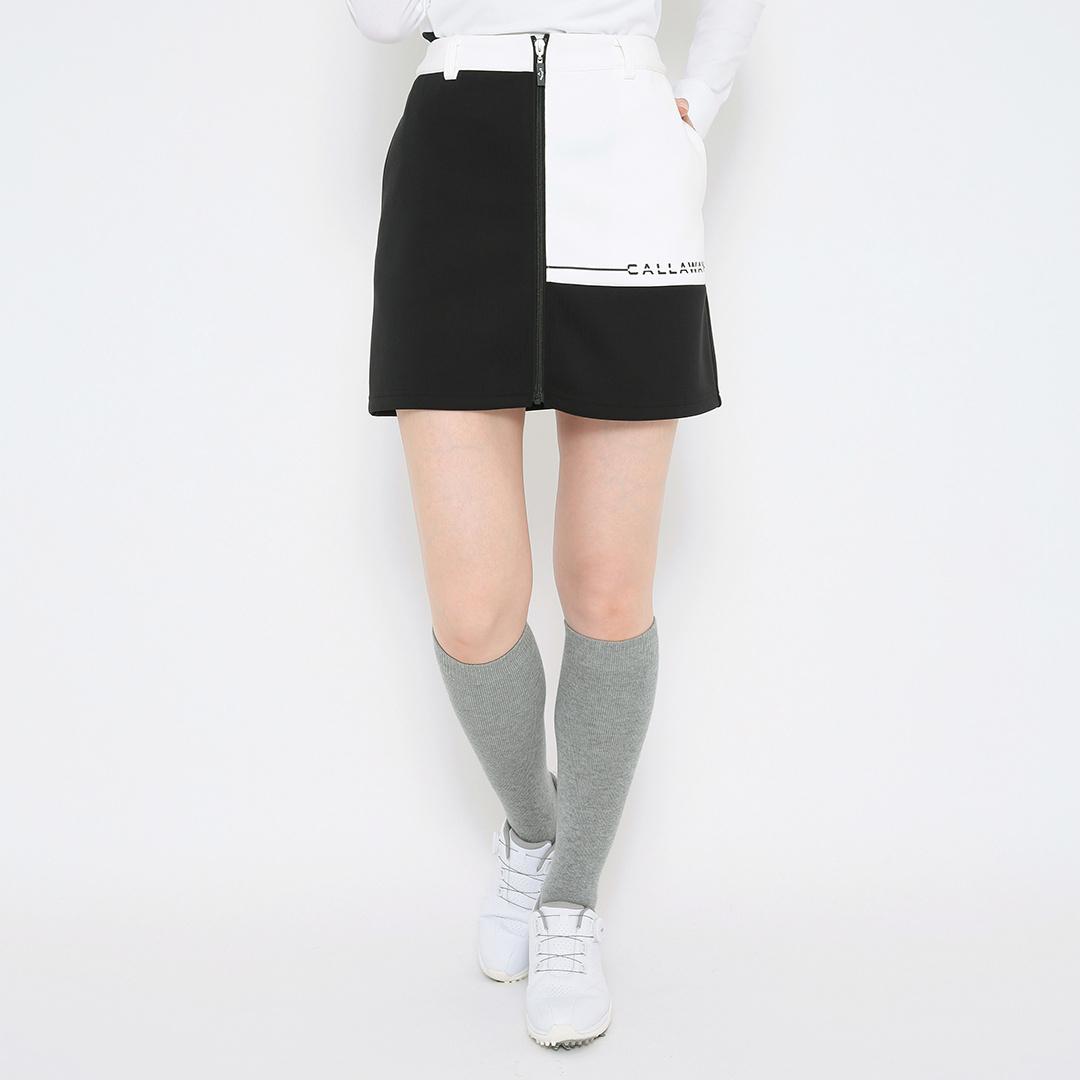 CALLAWAY  カラーブロッキング ダンボールニットスカート (WOMENS)