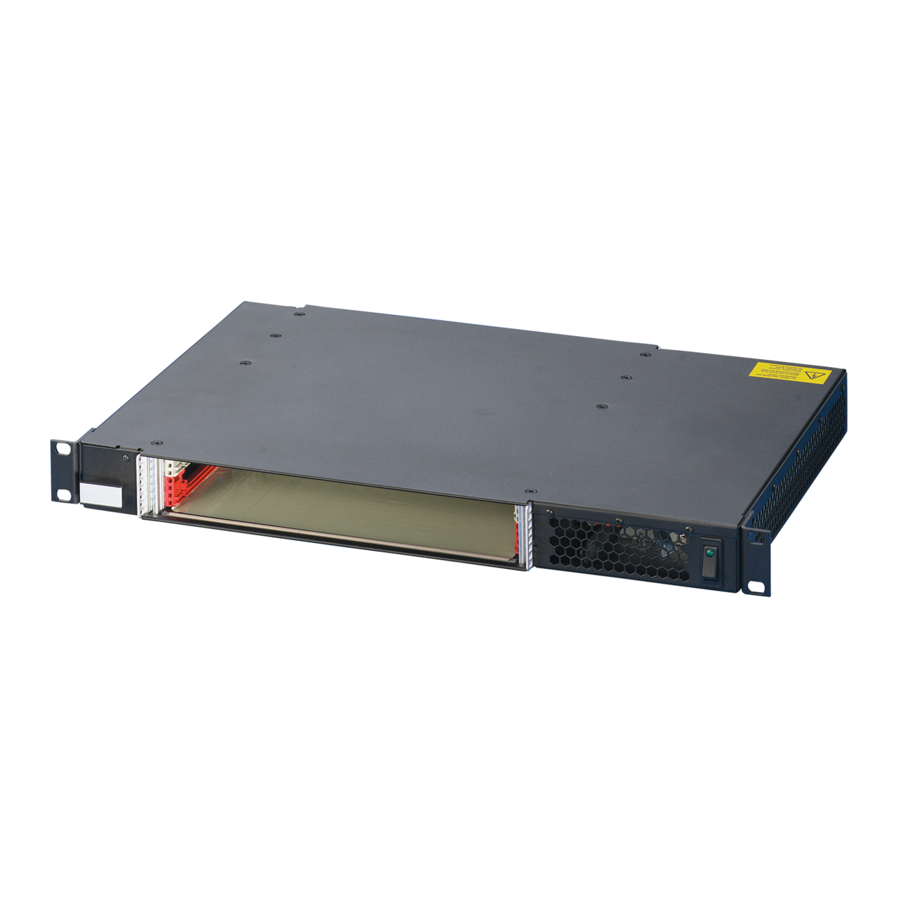Image for CompactPCI System 1 U, 2 slot, with rear I/O, with ATX power supply from Schroff - North America