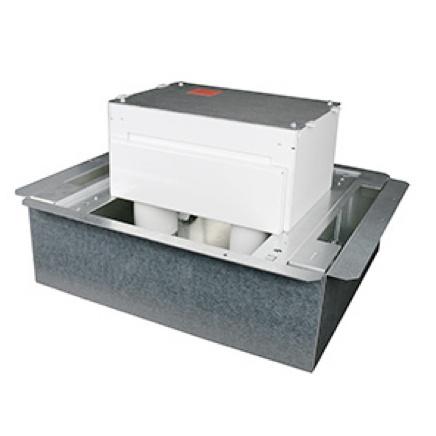 Fire classified floor box