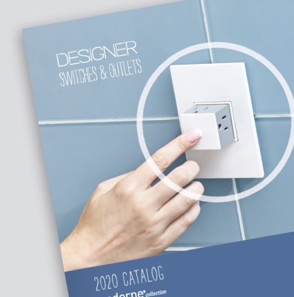cover of adorne by Legrand 2020 product catalog