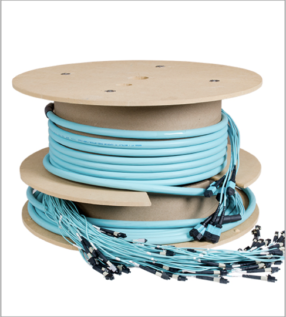 configurable fiber trunk cable