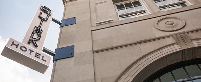 Quirk Hotel building exterior
