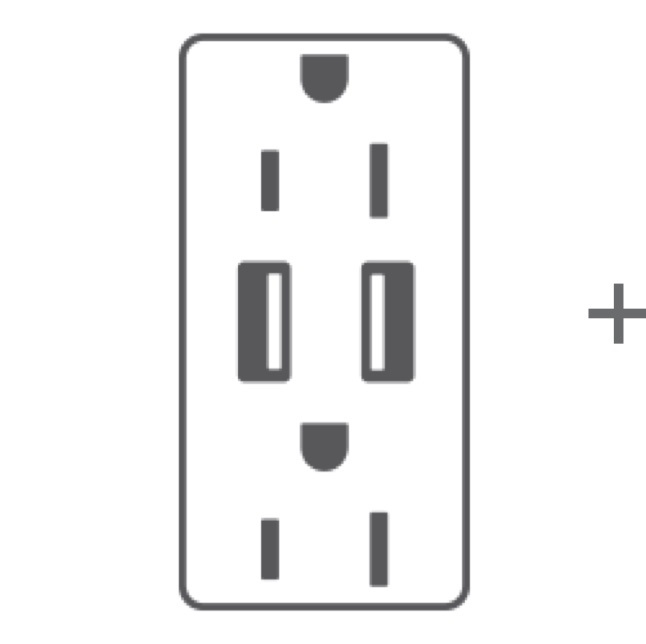 USB Outlet animation