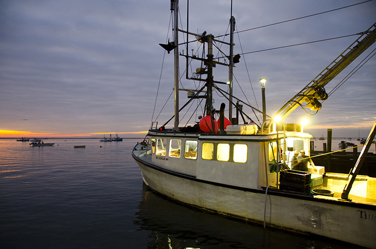 Northeast fishing boats. Credit: NOAA Fisheries.