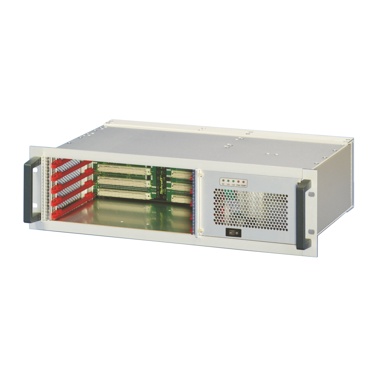 Image for VME-based systems 3 U, 5 slot from nVent SCHROFF | Europe, Middle East, Africa and India