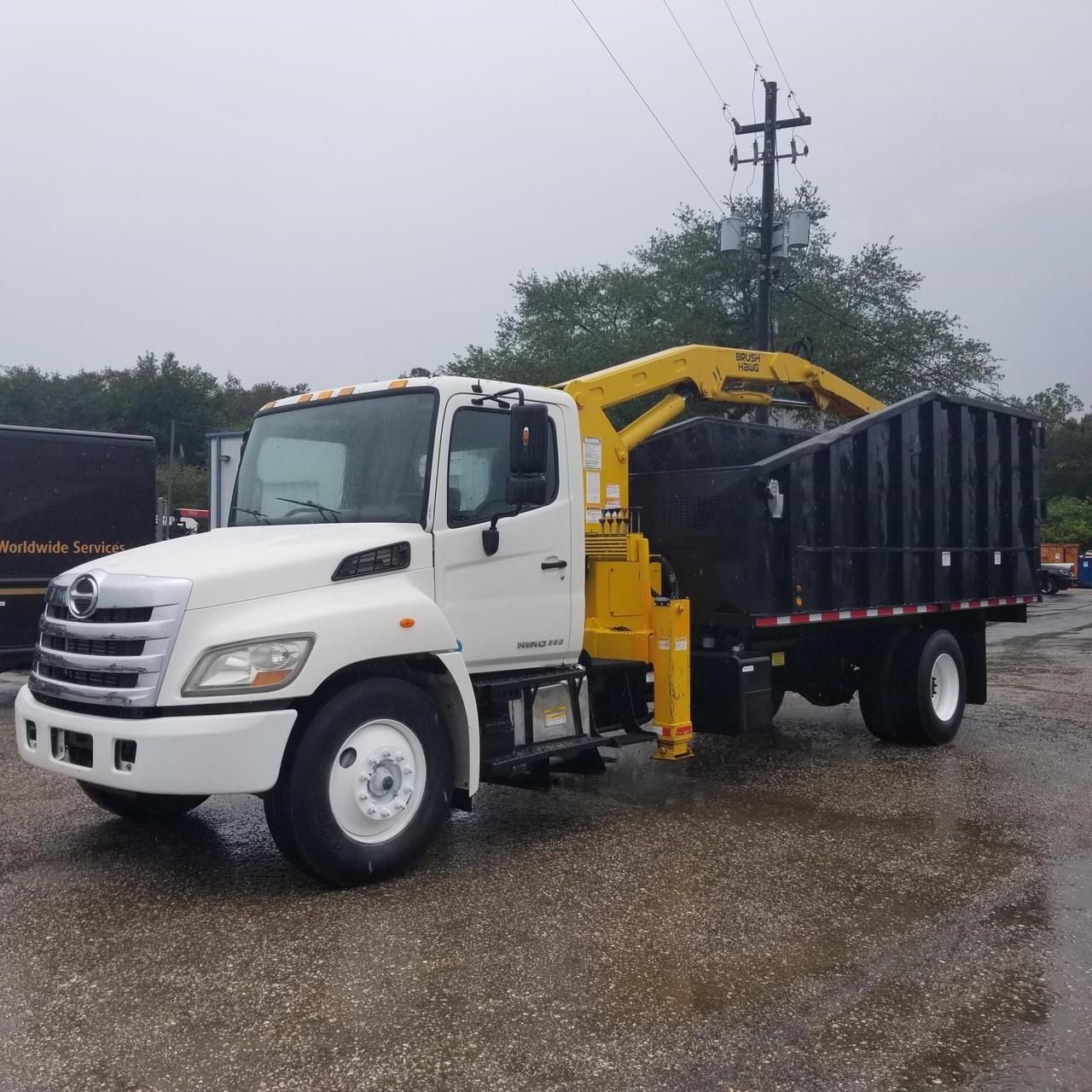 2012 HINO 338 4x2 Brush Hawg Grapple - Custom Truck One Source