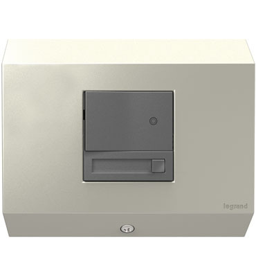 Control Box with Paddle™ Dimmer, Titanium