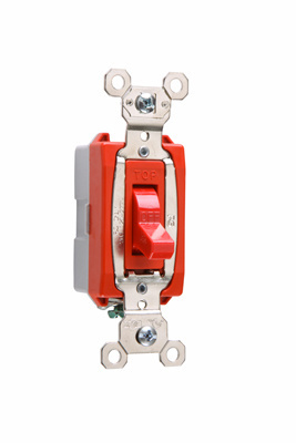 Industrial Extra Heavy-Duty Specification Grade Switch, PS20AC1RED