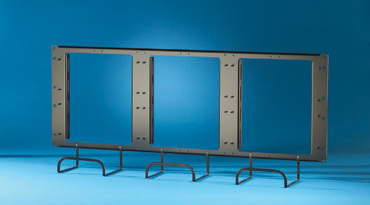 900-pair Rack Mount Panel with trough, OR-30600166
