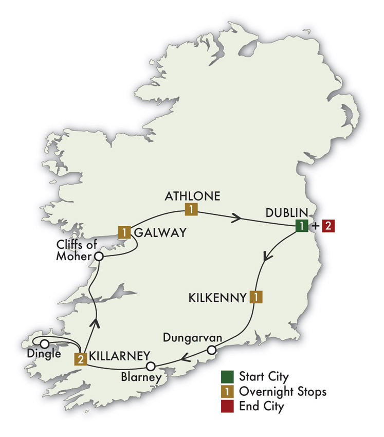 2021 The Irish Pub Tour - 9 Days/8 Nights
