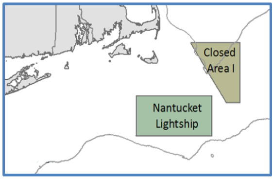 Closed Area 1 and Nantucket Lightship Closed Area
