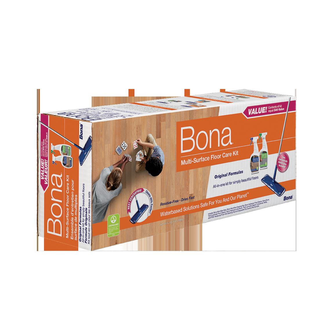 Bona® Multi-Surface Floor Care Kit