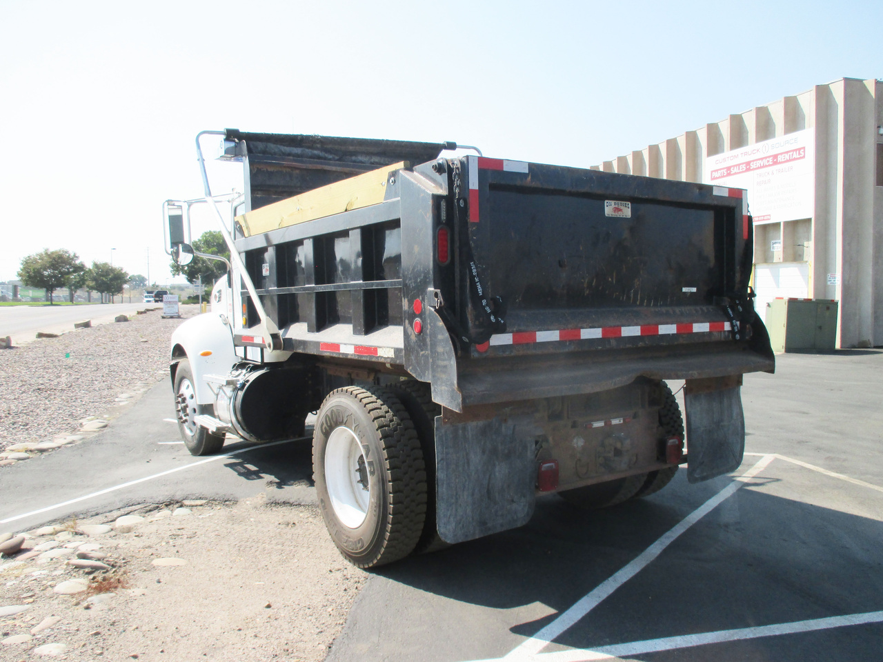 2014 Peterbilt 337 4x2 Ox 10 FT Dump Truck