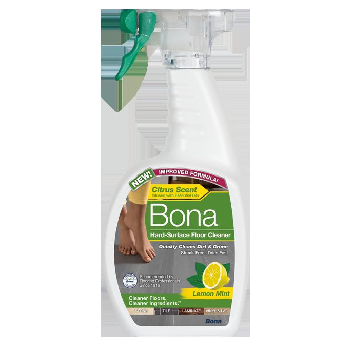 Bona® Hard-Surface Floor Cleaner with Lemon Mint