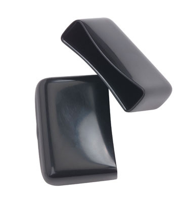 "Protective Rubber End Caps,  Black,  1 1/2"" Stringer , OR-2-E1-25C-A"