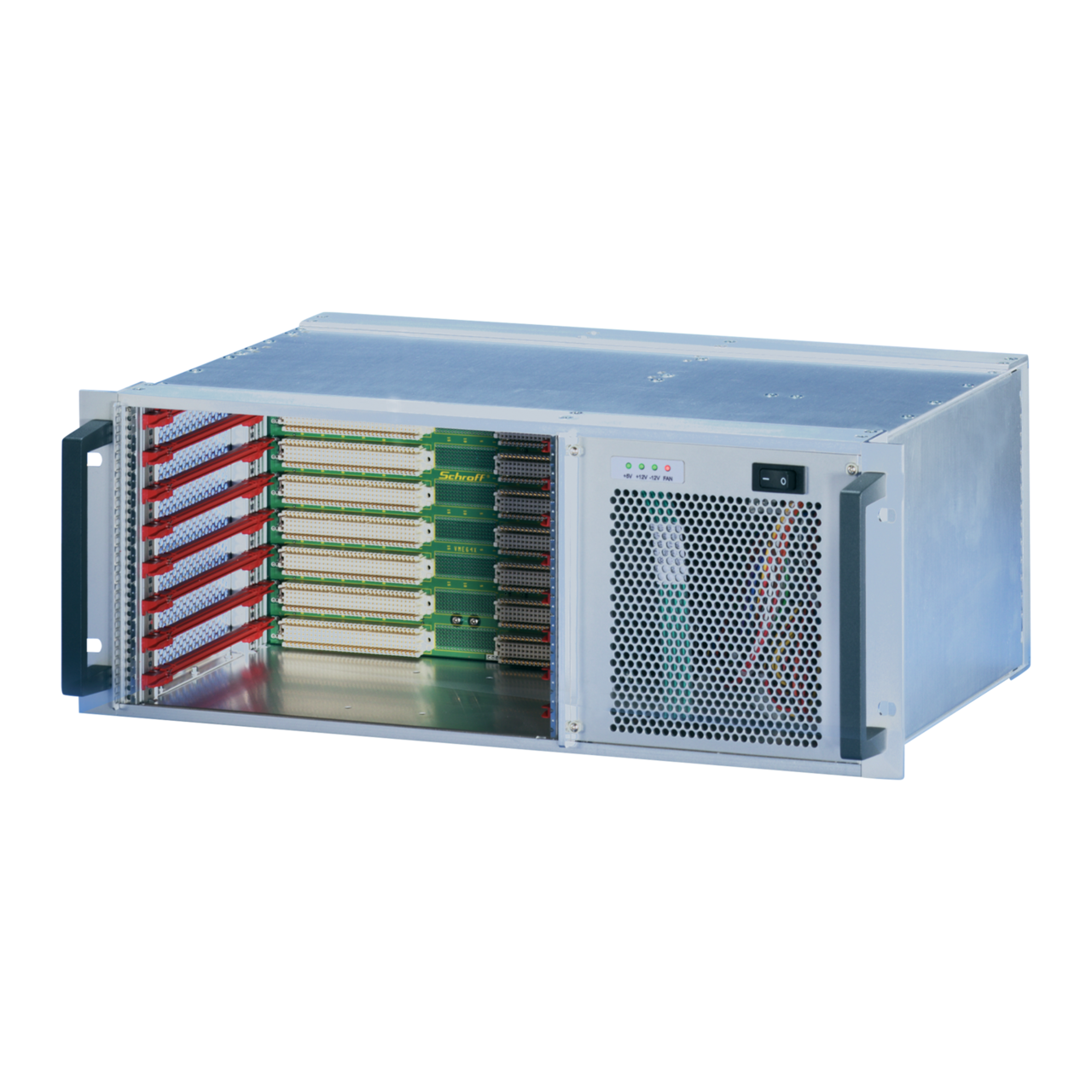 Image for VME64x-based systems 4 U, 8 slot, with rear I/O from nVent SCHROFF | Europe, Middle East, Africa and India