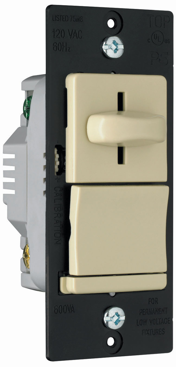 LS Series Low Voltage Slide Dimmer, LSLV600PI