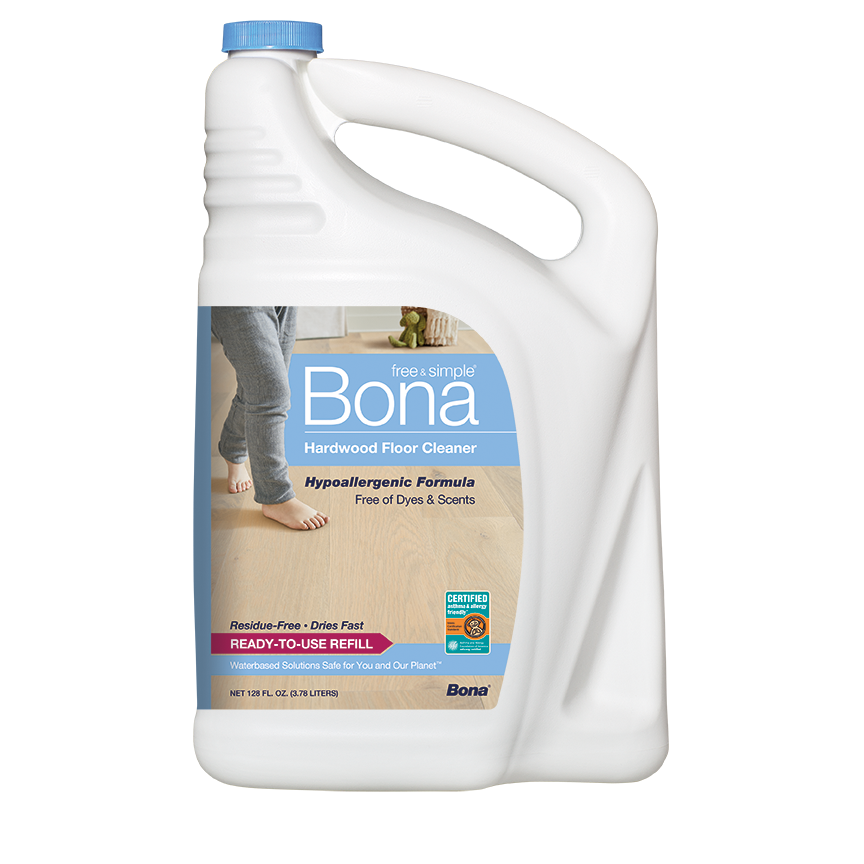 Bona Free & Simple®  Hardwood Floor Cleaner Refill (160 oz)