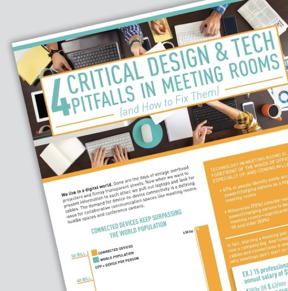 Design and tech pitfalls in meeting rooms - White Paper
