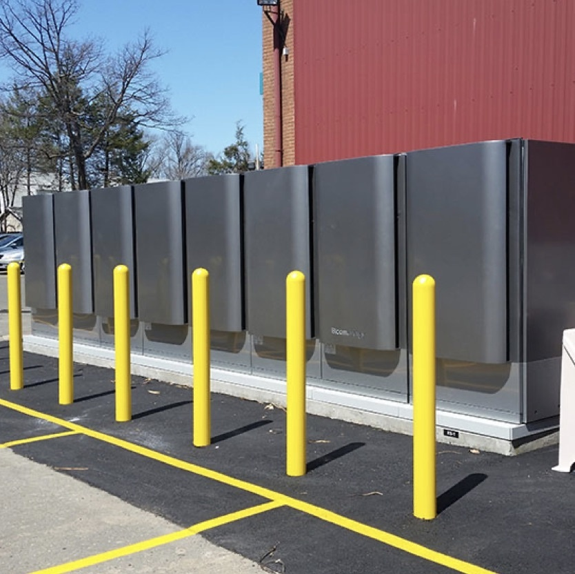 Fuel cells outside of Legrand headquarters