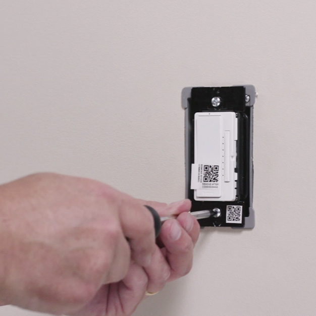installation of a Legrand smart light switch