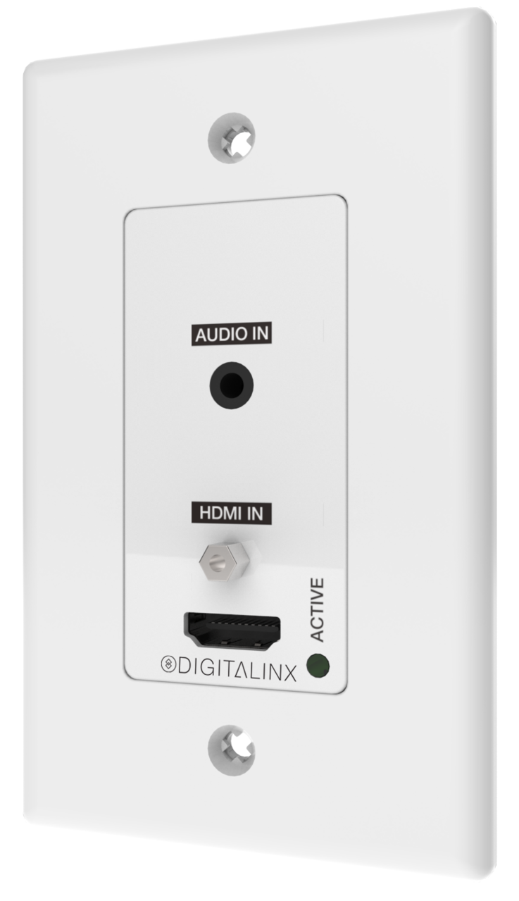 Dl 1h1a Wpkt W Wall Plate Single Decora Hdmi 35mm Audio Over Wiring Plates Hdbaset With