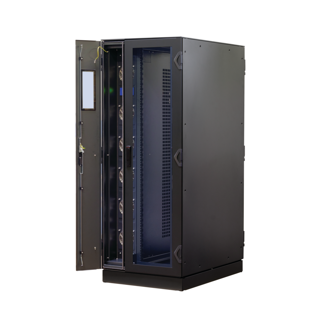 Image for VARISTAR LHX+, cabinet with double door, integrated airconditioner from nVent SCHROFF | Europe, Middle East, Africa and India