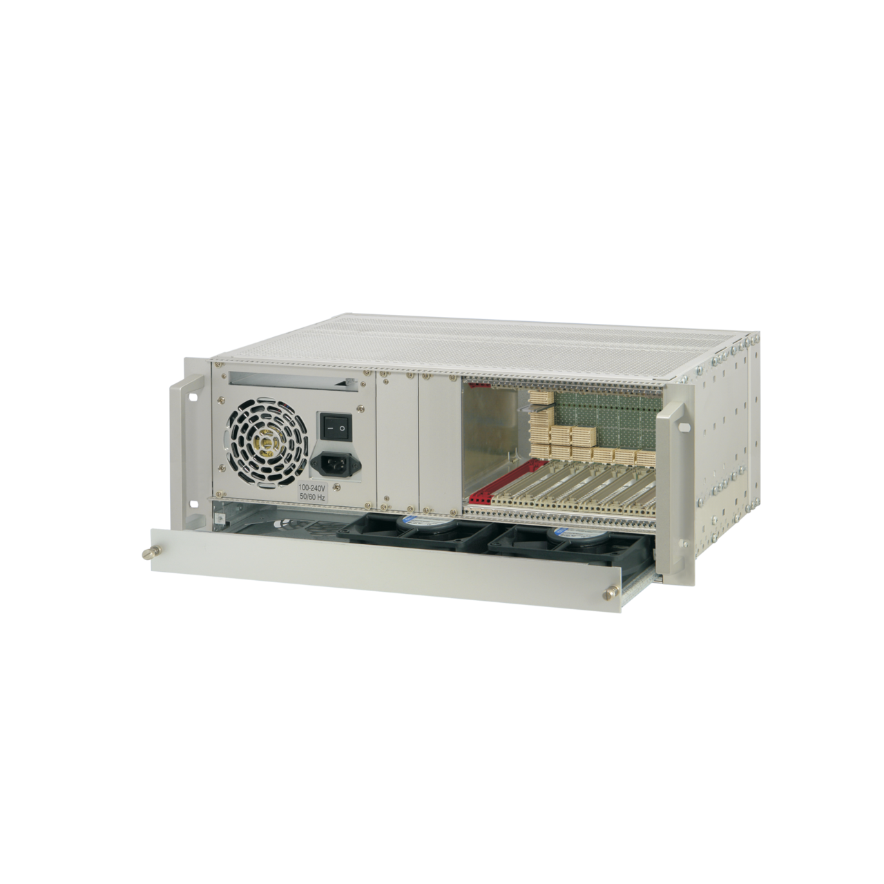 Image for CompactPCI Serial 4 U, 9 slot, without rear I/O, with ATX power supply from nVent SCHROFF | Europe, Middle East, Africa and India