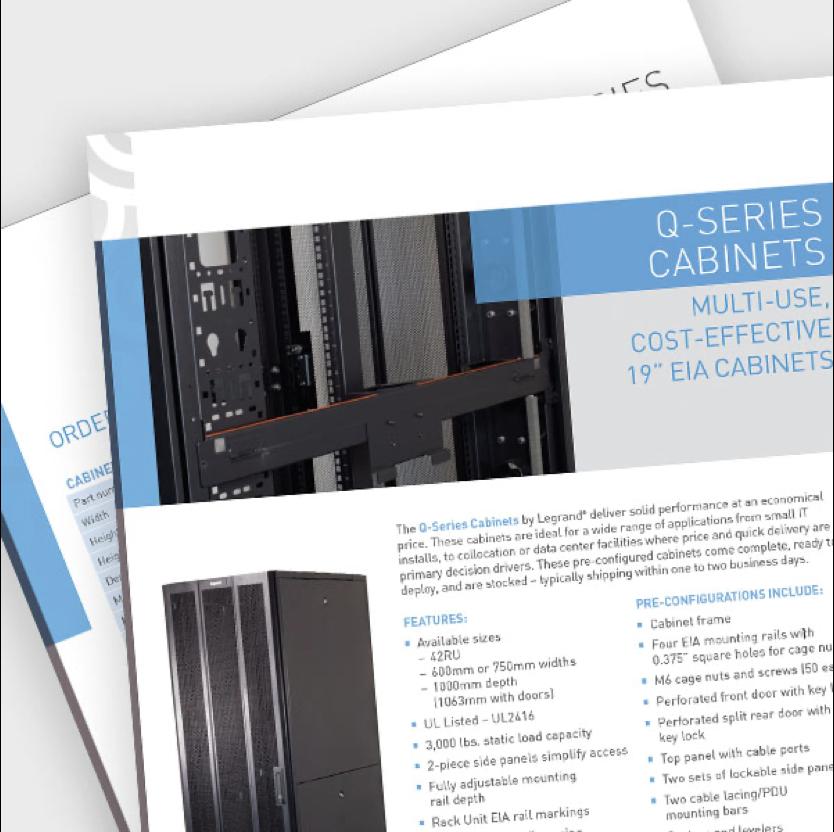 Q-Series Cabinet Data Sheet