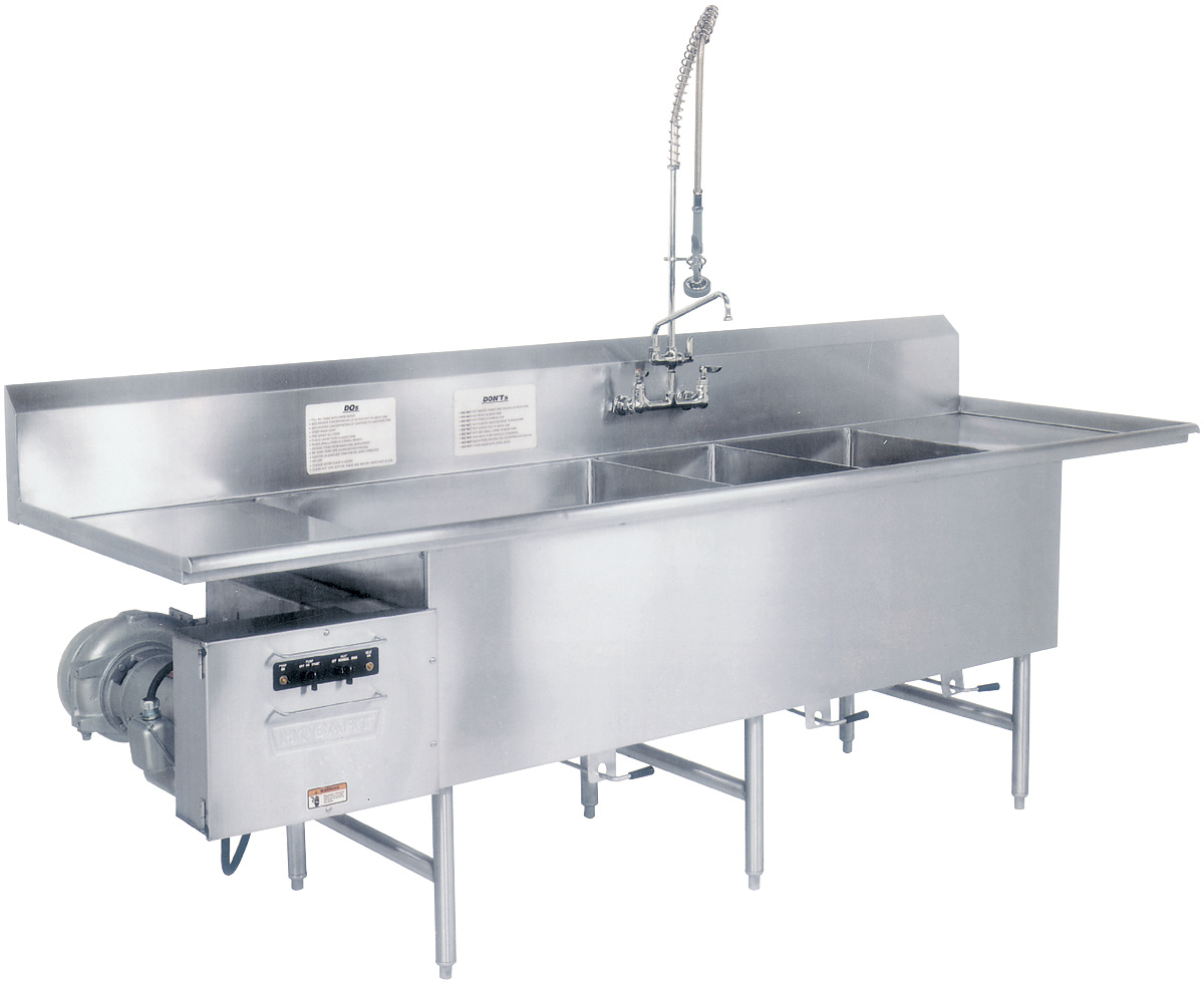 Exceptionnel Turbowash II Powered Sink | Utensil, Pot U0026 Pan Washers