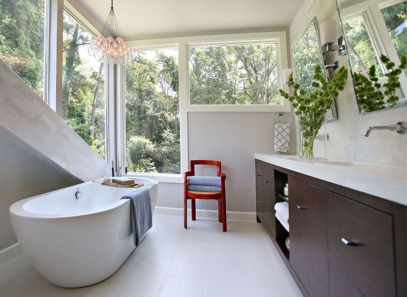 StyleBlueprint Atlanta: spa bathroom at home
