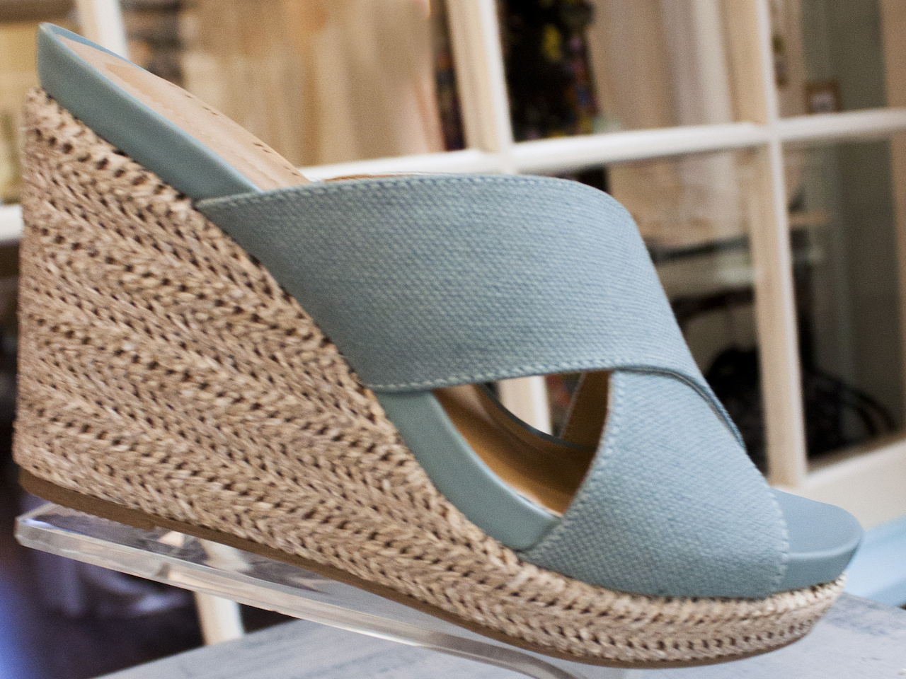 Cute and comfortable, wedges, $89, from More Therapy.