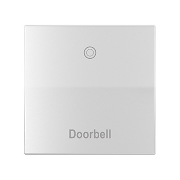 Doorbell White Switch Straight