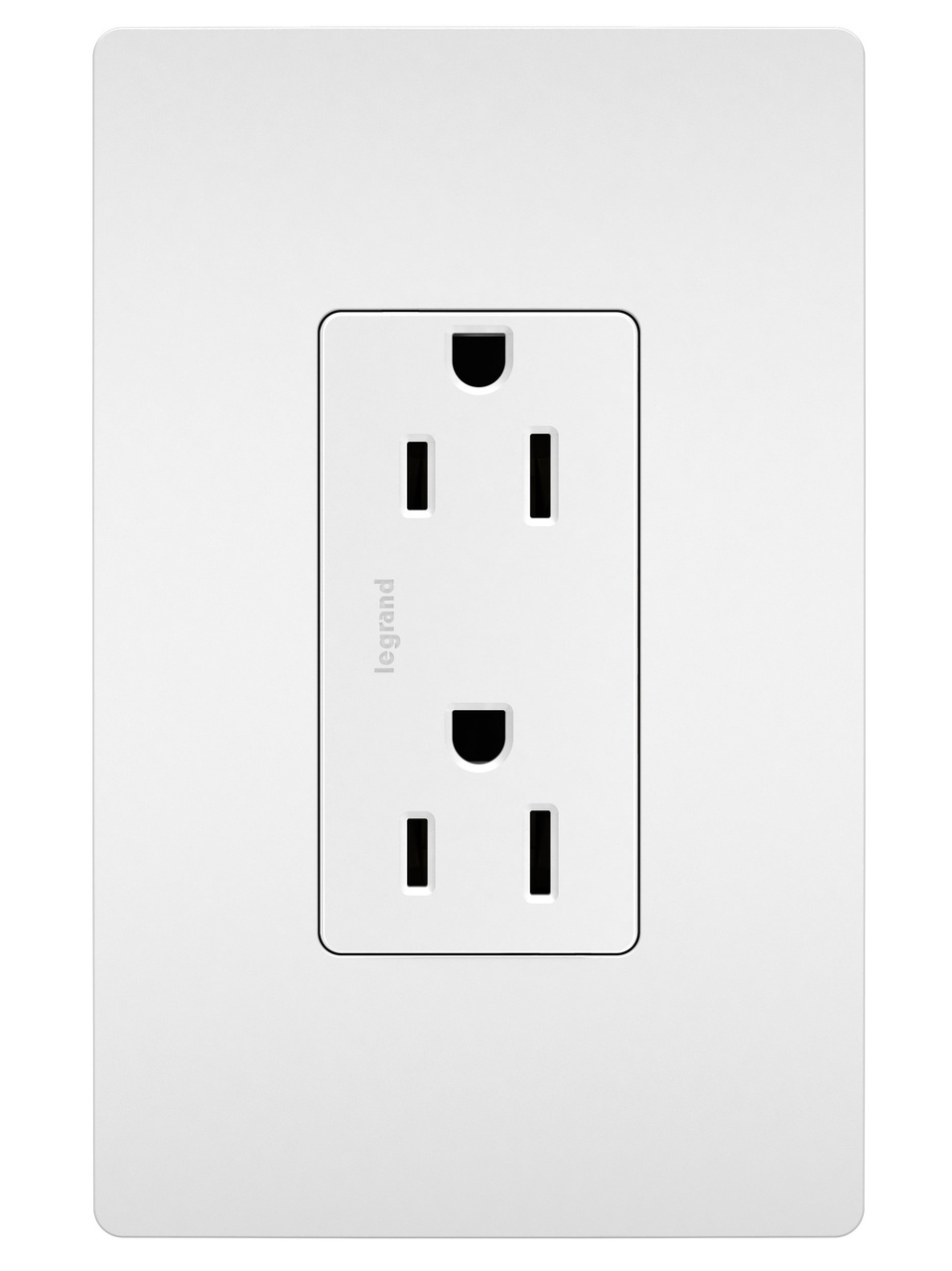 Duplex Receptacle, White