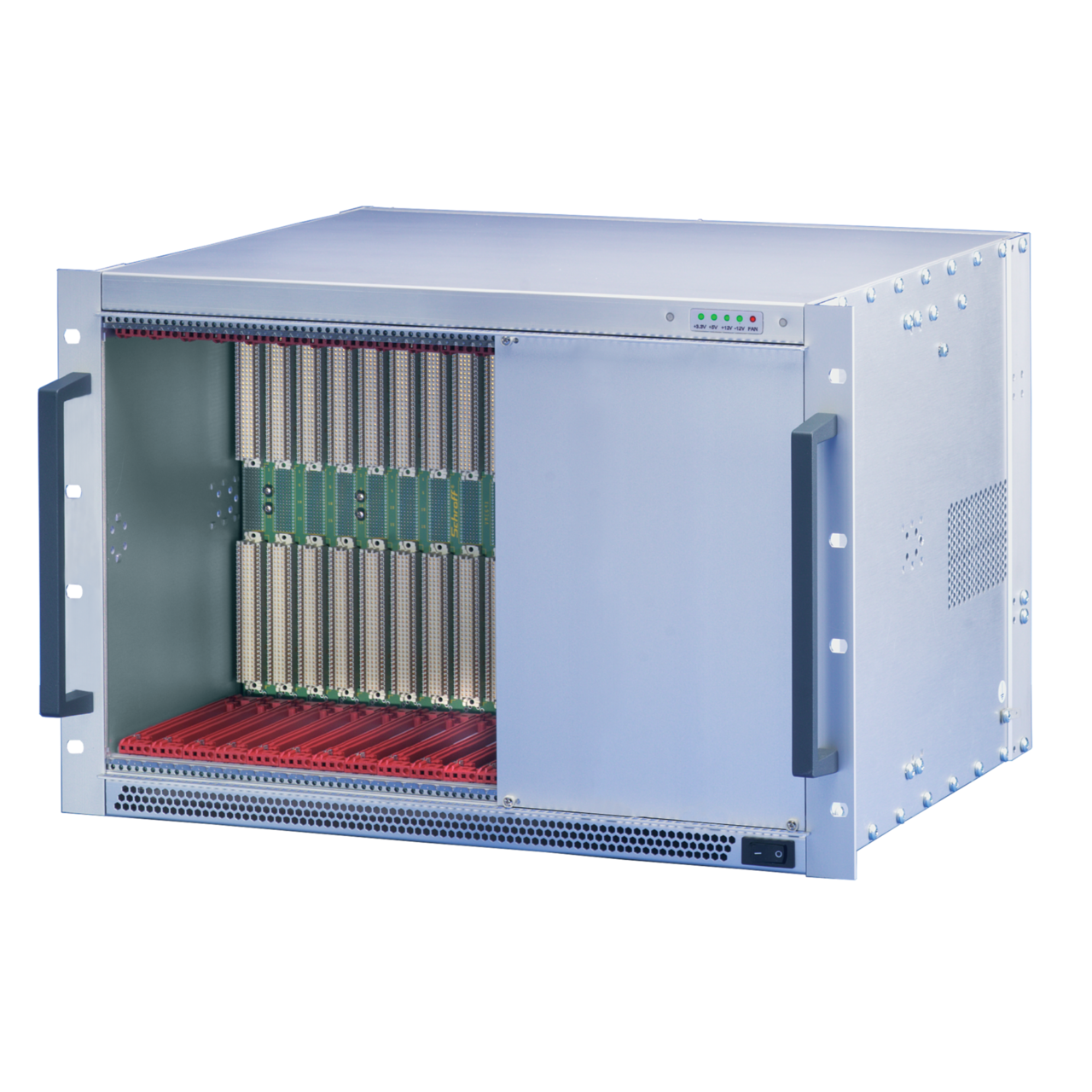 Image for VME64x-based systems 7 U, 12 slot, with rear I/O from nVent SCHROFF | Europe, Middle East, Africa and India