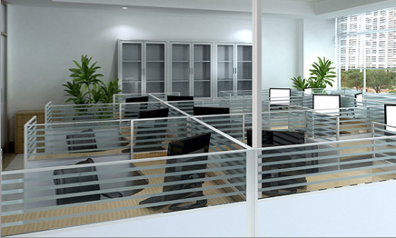 power poles in corporate office