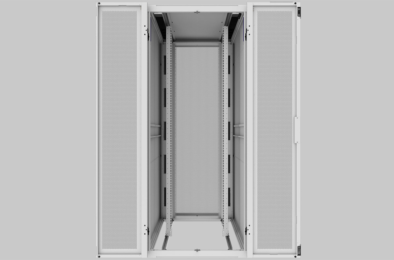Image showing external shot of 800 mm opened, no tray