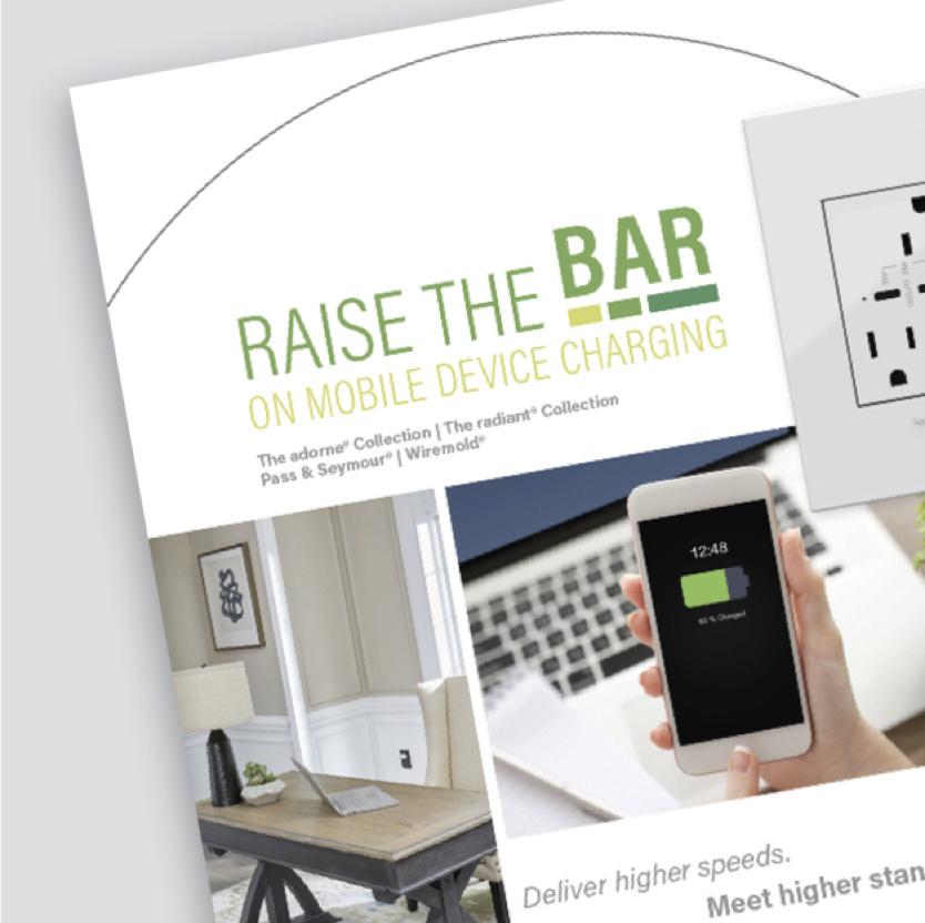 cover of raise the bar brochure