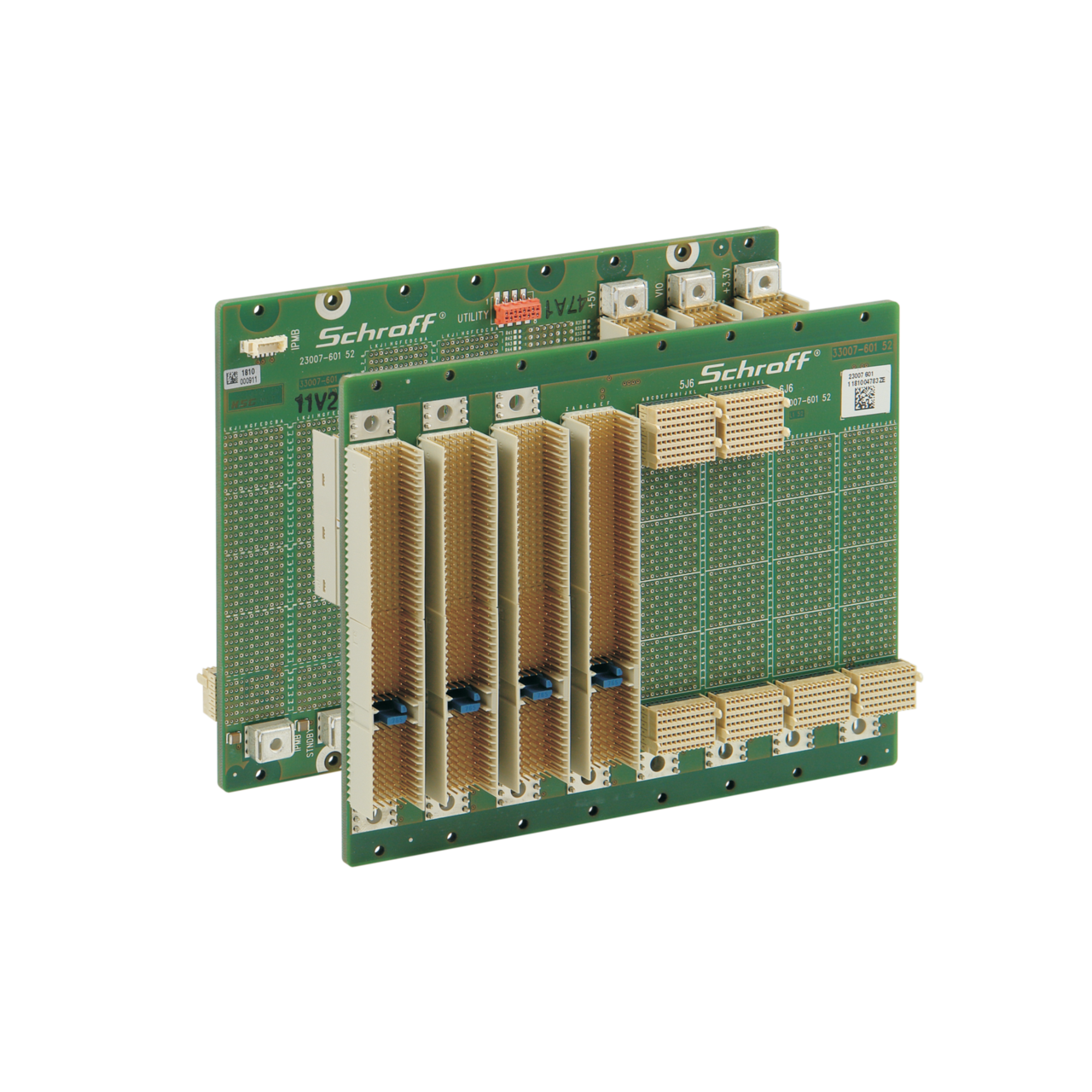 Image for CompactPCI PlusIO backplanes from nVent SCHROFF | Europe, Middle East, Africa and India