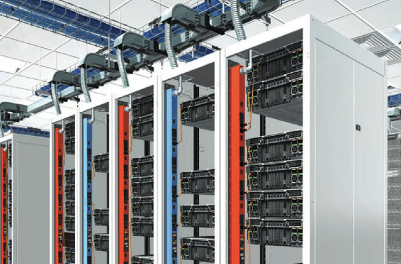 Image of server cabinets