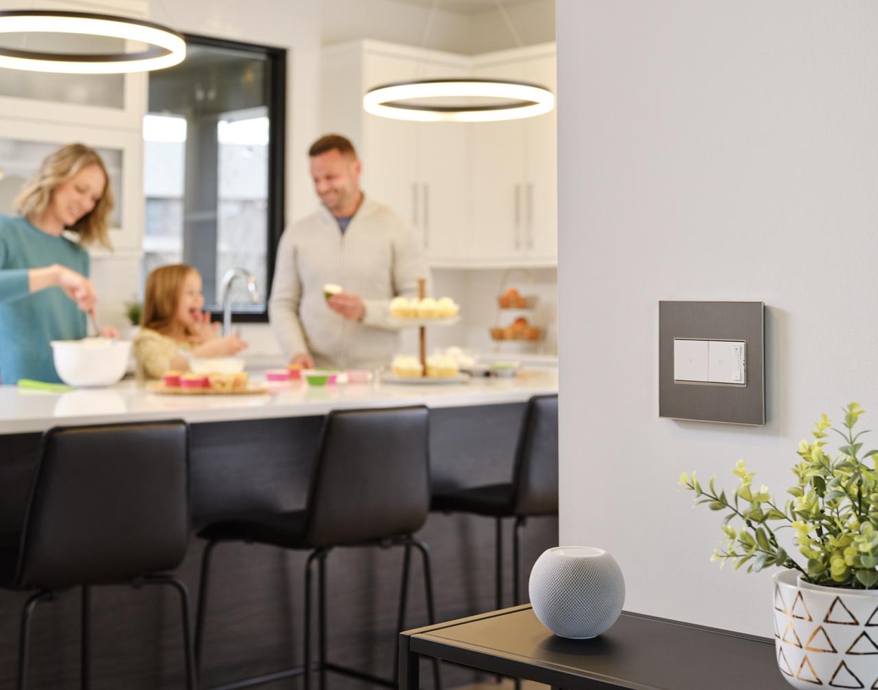 adorne smart lighting with netatmo in modern living room