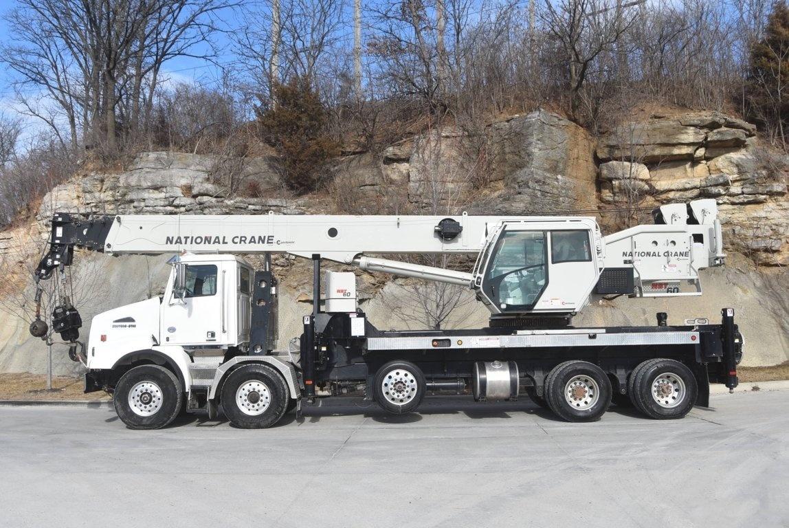 2018 Western Star 4800SB TS 10x4 National NBT60128 Boom Truck