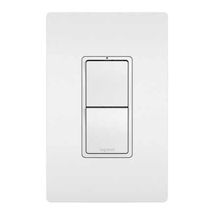 radiant Collection dual light switch