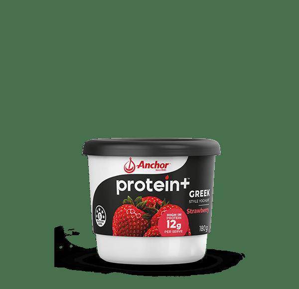 Anchor Protein+ Strawberry Yoghurt 180g tub