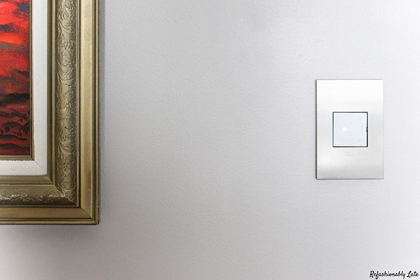 Satin Nickel 1-Gang Wall Plate