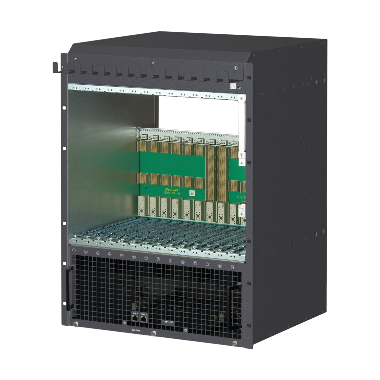 Image for AdvancedTCA ECO Modular System, 14 Slot, DC from Schroff - Asia Pacific
