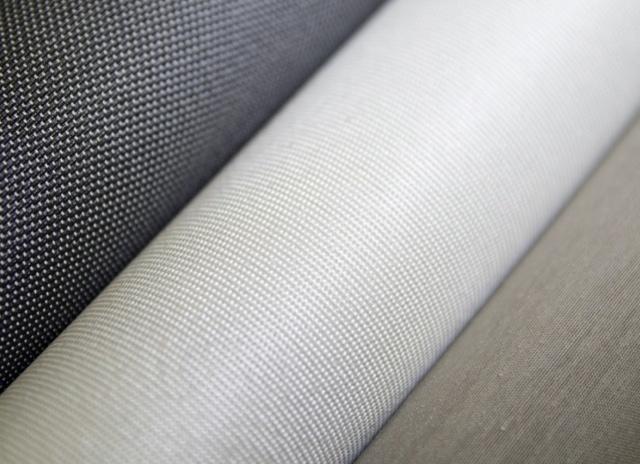 Rolls of QMotion fabrics
