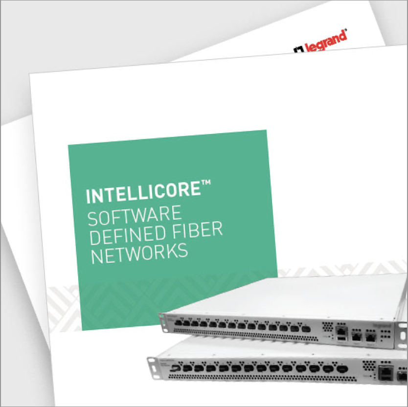 Intellicore Software Defined Fiber Networks brochure