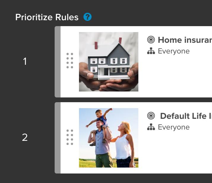 Prioritizing rules