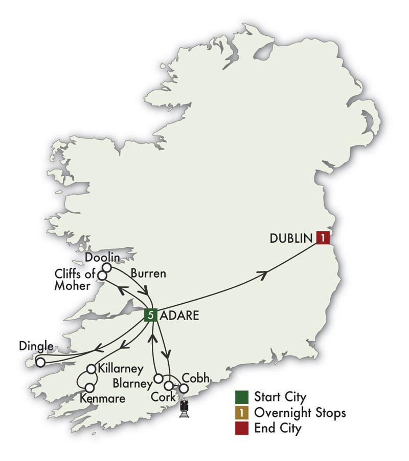 2021 Ireland South Daytripper - 7 Days/6 Nights